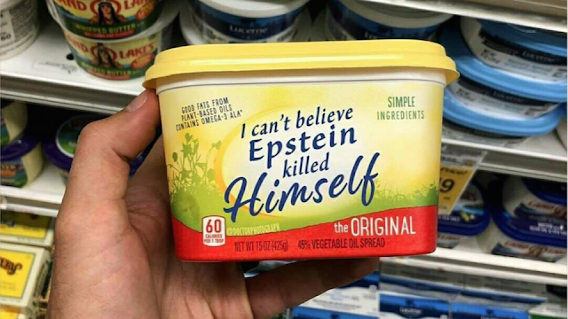 I can't believe Esptein killed himself butter