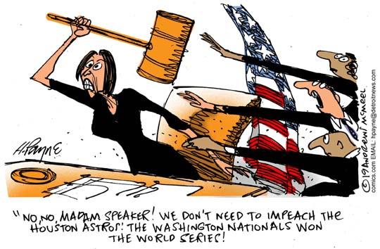 Nancy P. Lousy Impeach Astros