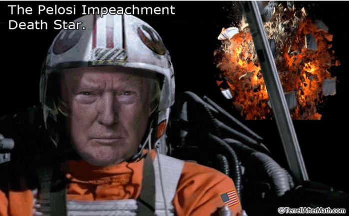 Nancy P. Lousy Impeachment Death Star