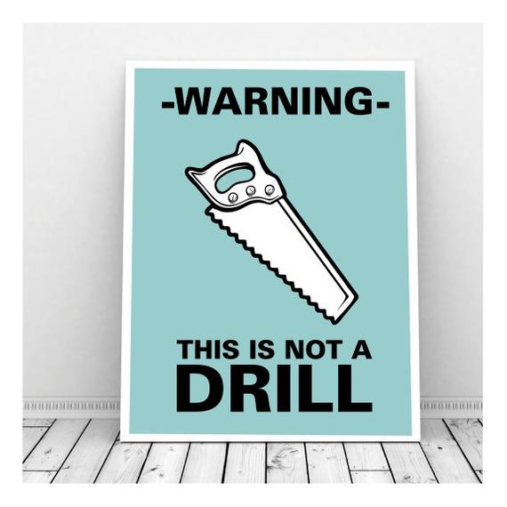 Not a drill-saw