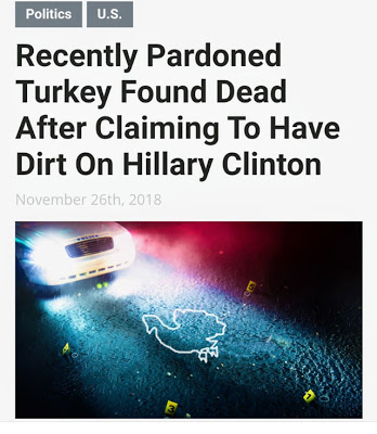 Pardoned Turkey-Old Hitlery