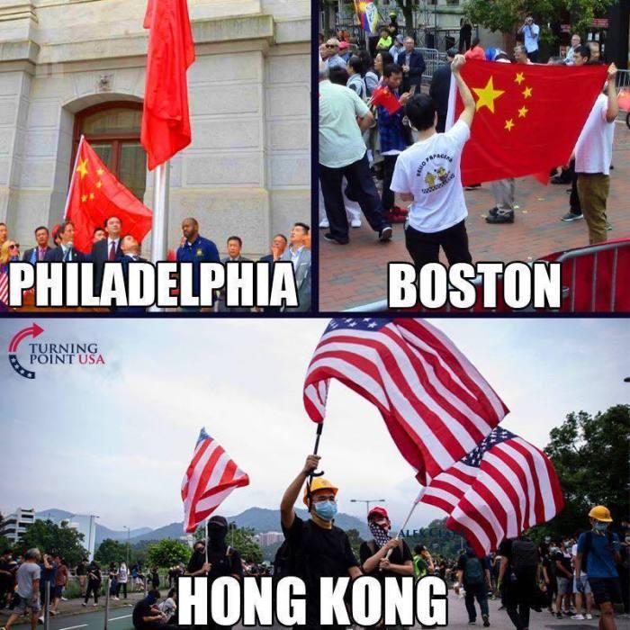 Philadelphia-Boston-Hong Kong