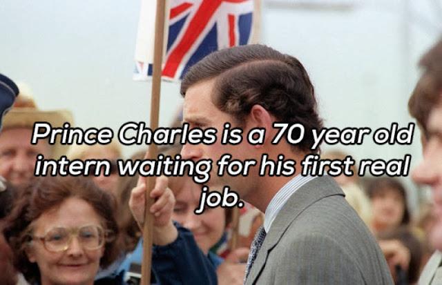 Prince Charles, intern