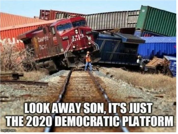 'Rats-train wreck 2020 platform
