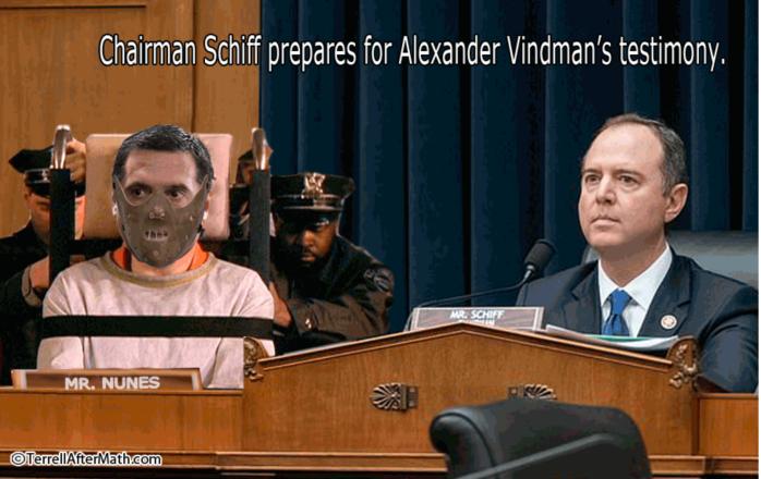 Schiff for Brains-Vindman's testimony