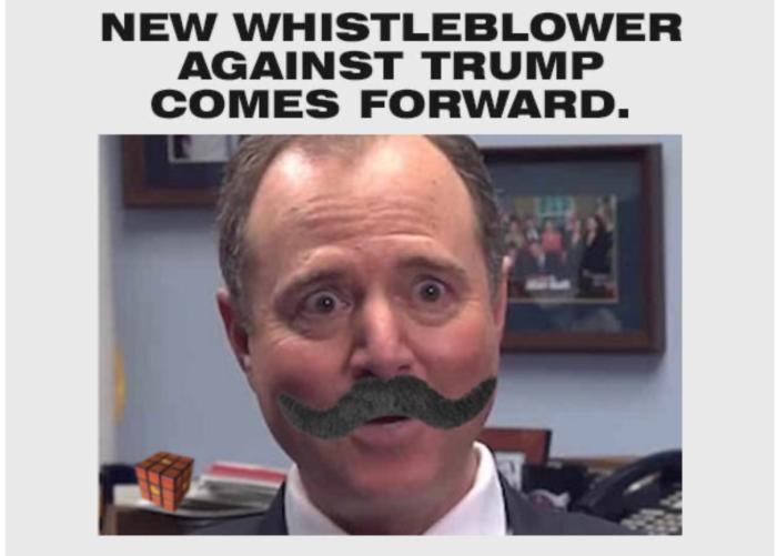 Schiff for brains-Whistleblower