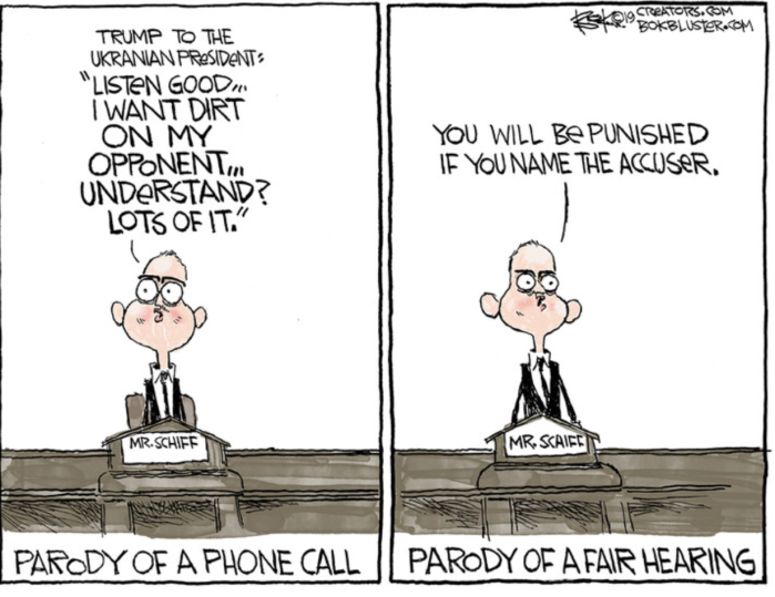 Schiff-for-brains_parody of fair hearing