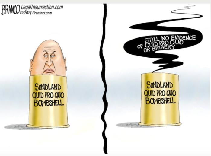 Schiff-Sondland-No Quid pro quo