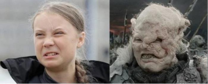 Separated at Birth-Greta Thunberg_Climate Goblin