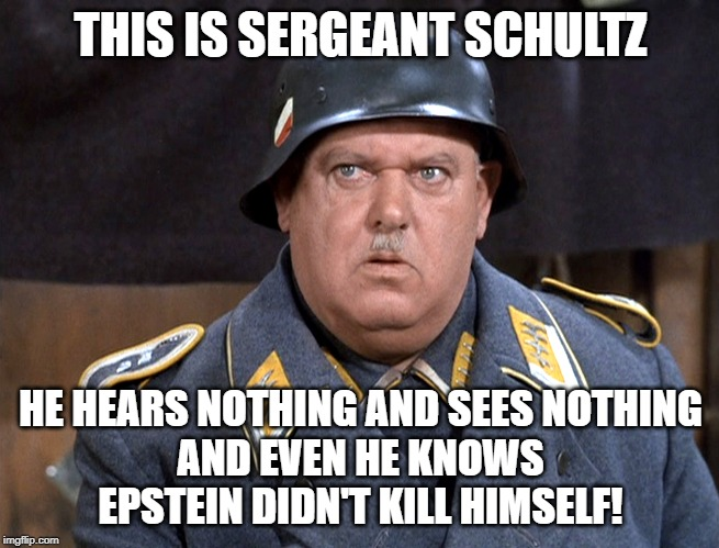 Sgt. Schultz-Epstein didn't kill himself