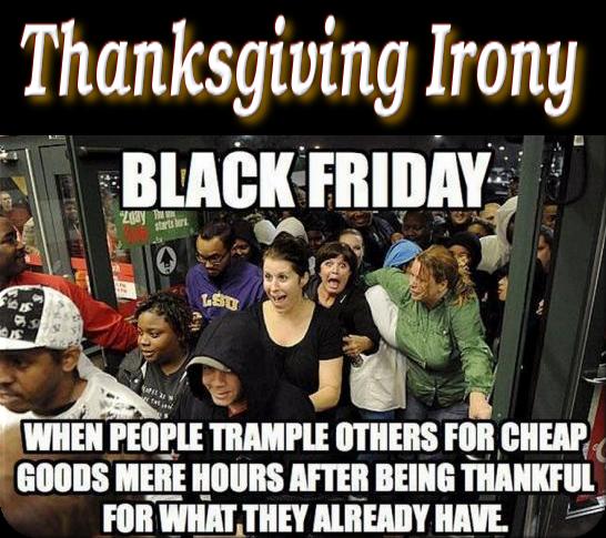 Thanksgiving-Black Friday