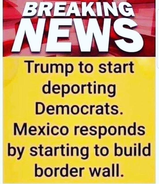 Trump deports DemocRATS
