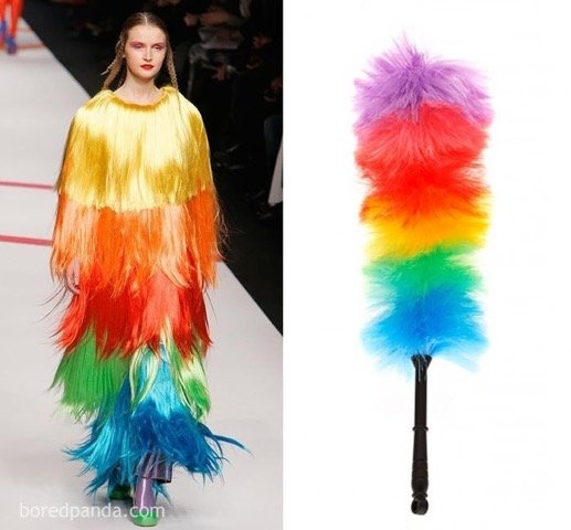 Who Wore It Better - Feather Duster