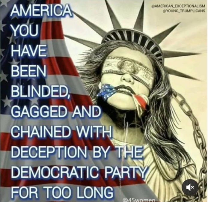 America-blinded by the DemocRATS