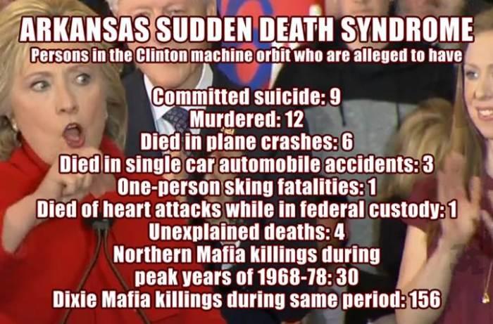 Arkansas Sudden Death Syndrome