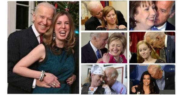 Biden-sniffing hair