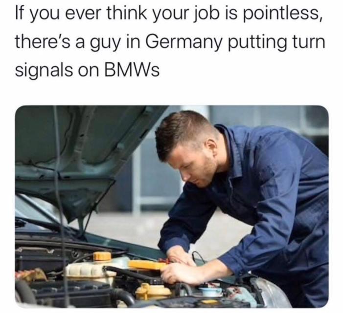 BMW-turn signal installer