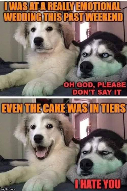 cake was in tiers