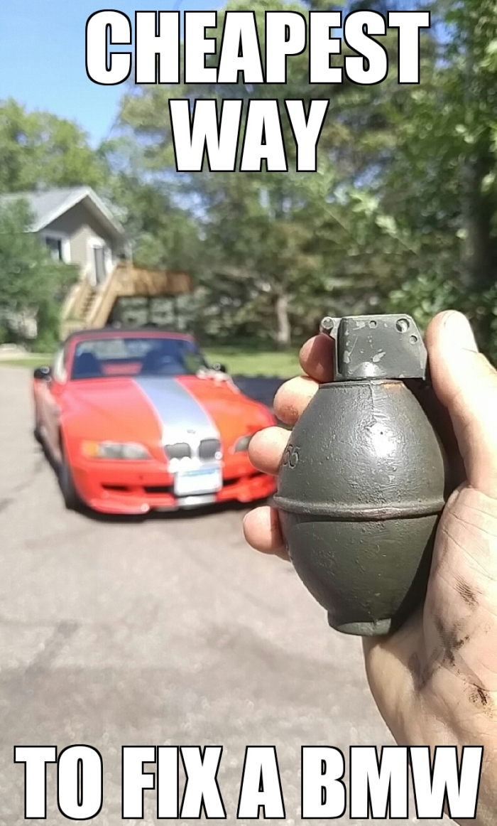 Cheapest way to fix a BMW