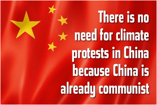 climate protests in China