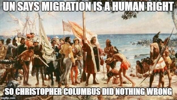 Colombus and the UN