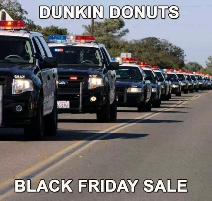 Dunkin Donuts Black Friday Sale