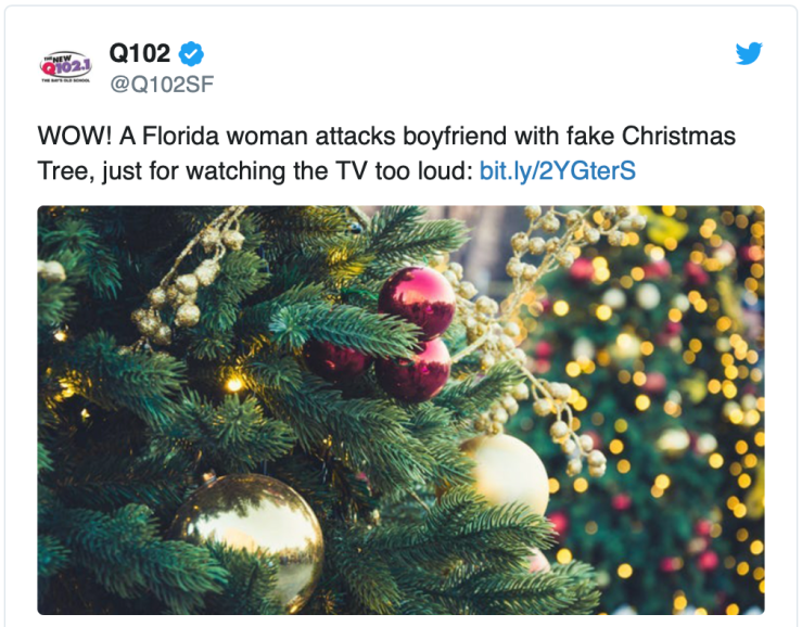 Floriduh-fake Christmas tree