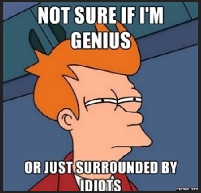 Genius or Idiots
