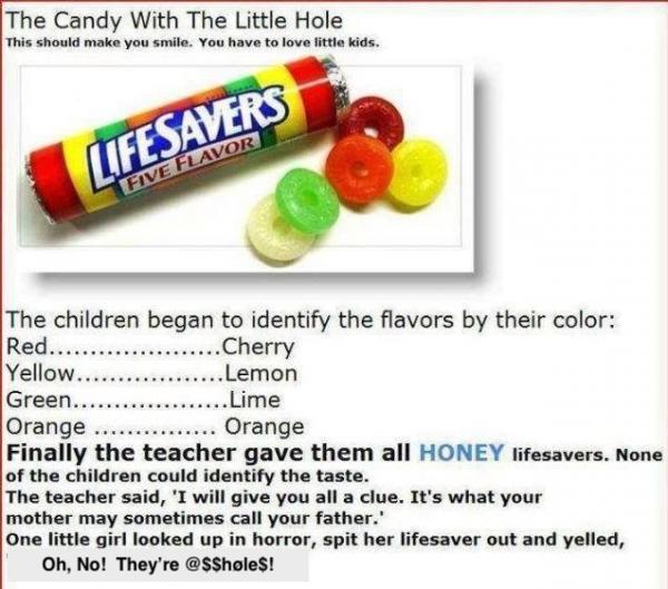 LifeSaver flavors