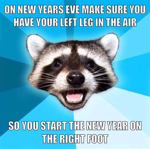 New-Year-Left Leg-Right Foot