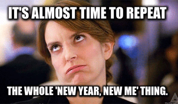 New Year-New Me