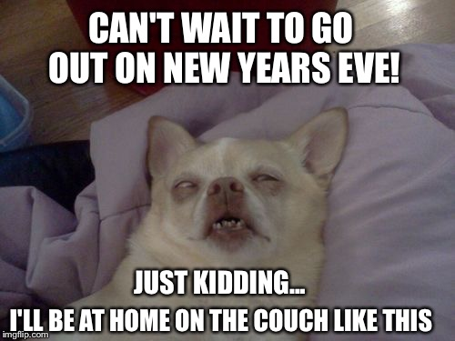 New Year-on couch