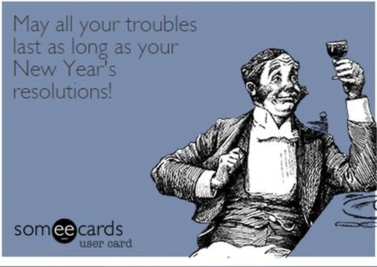 New Year Resolutions-troubles