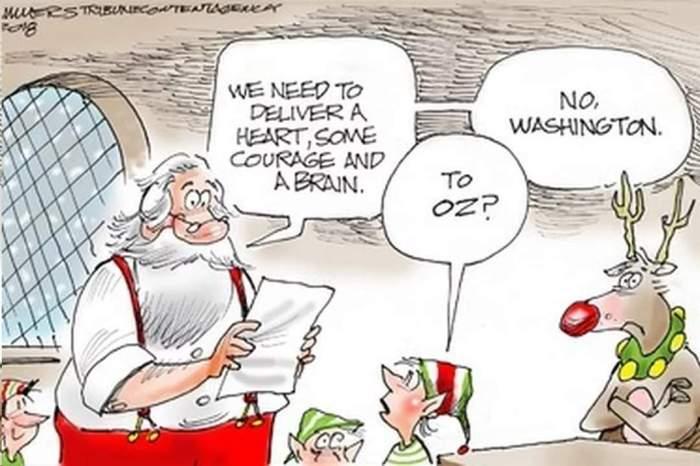 Santa in DC