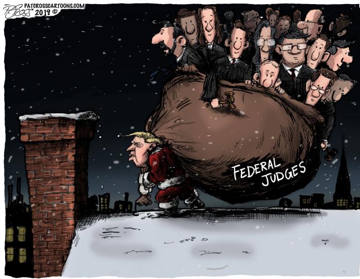 Santa Trump-Judges