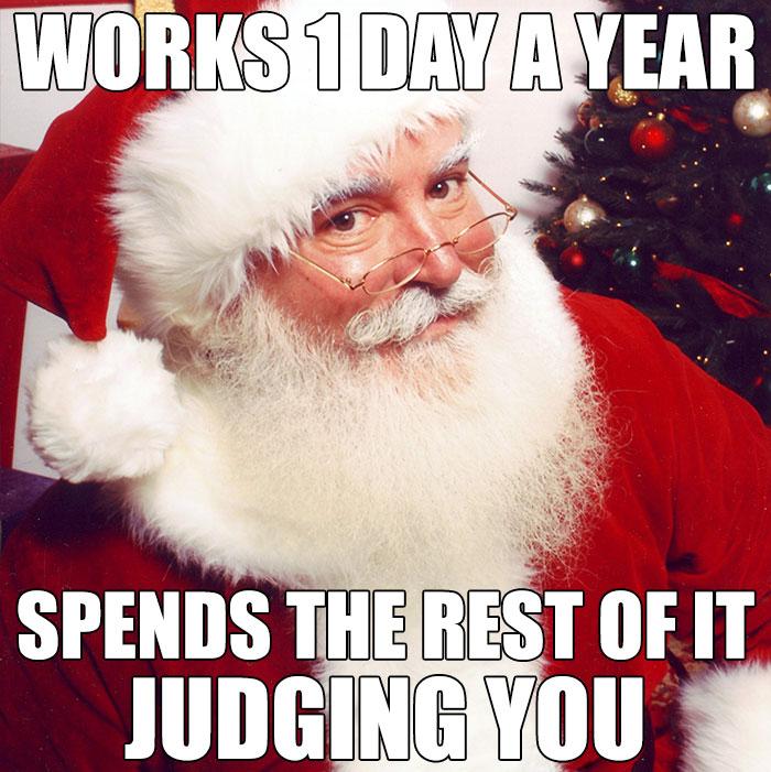 Santa-works 1 day
