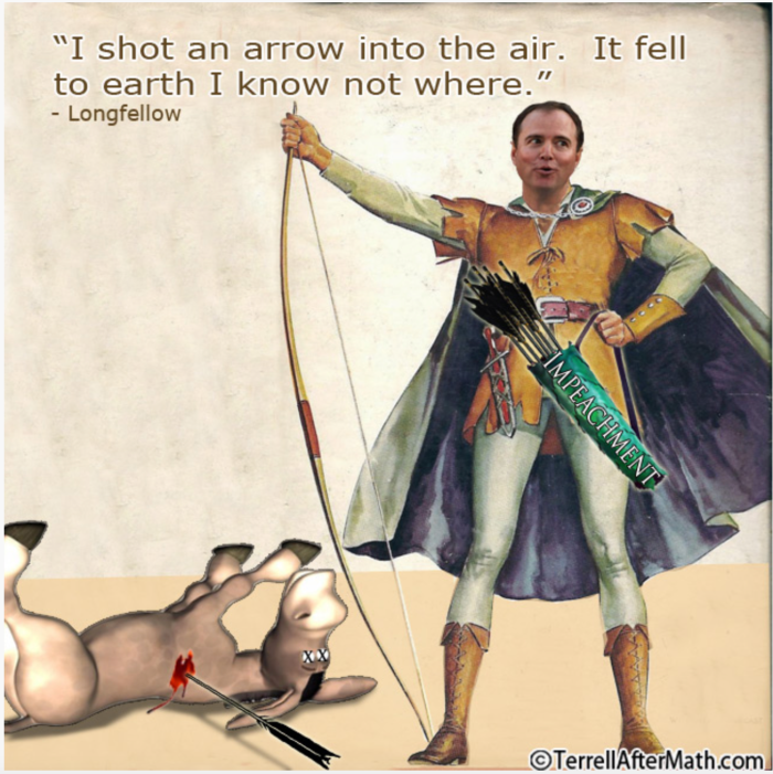 Schiff-for-brains_shot an arrow
