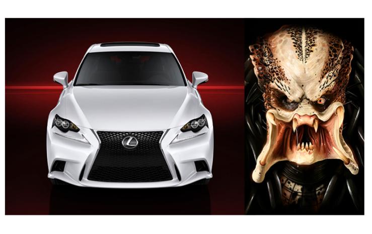 Separated at birth-Lexus