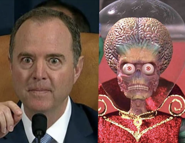 Separated at Birth-Schiff for brains