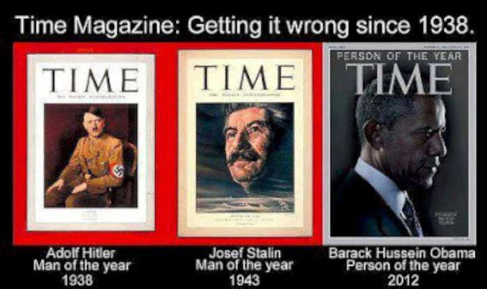 Time Person of the Year-wrong since 1938