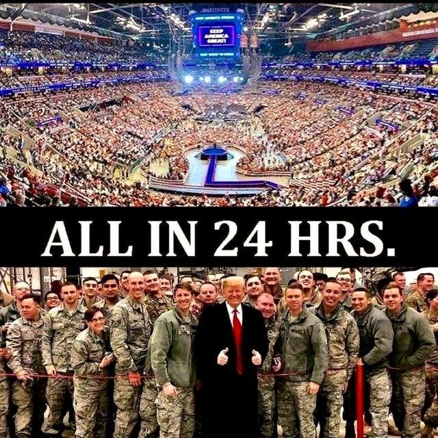 Trump-24 hours