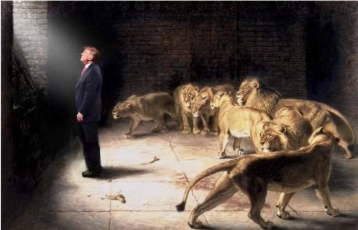 Trump in the LIons Den