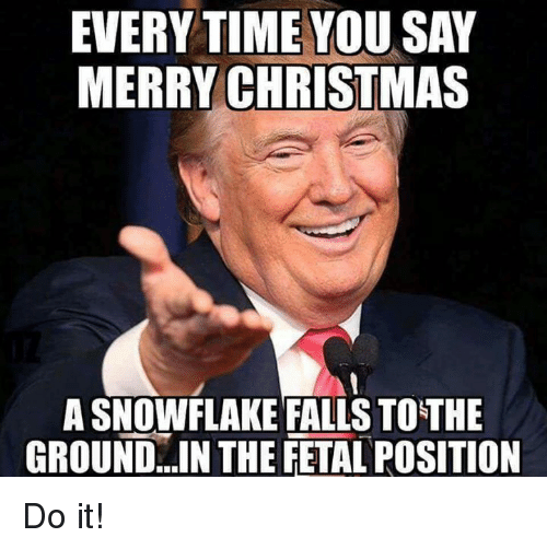 Trump-Merry Christmas