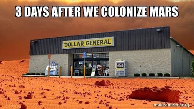 3 days after we colonize Mars