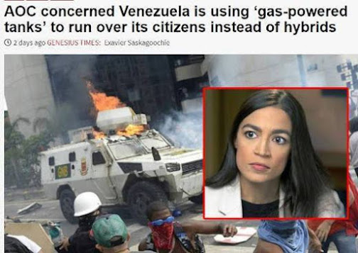 AOC-concerned-venezuela-using-gas-powered-tanks-to-run-over-its-citizens-satire