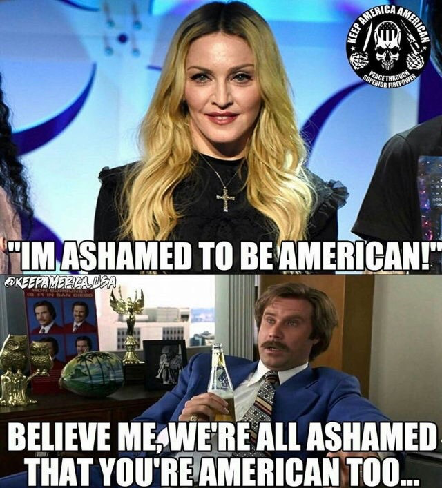 Ashamed to be American