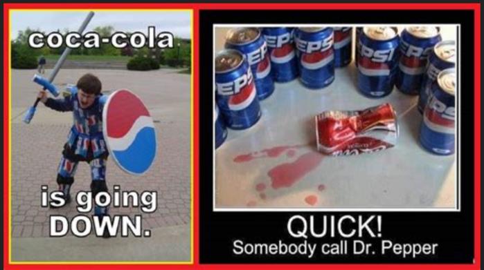 Coke-Pepsi-Dr. Pepper