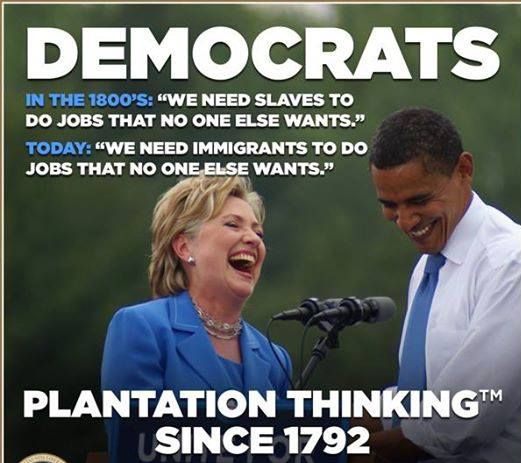 DemocRATs' Plantation Thinking
