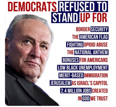 DemocRATs refused to stand for