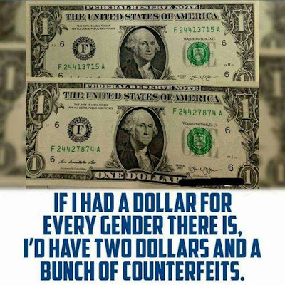Dollar for each gender